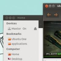 Ambiance Squared - квадратные заголовки и более широкие границы для окон в Ubuntu