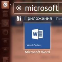 Microsoft Office Online в Ubuntu